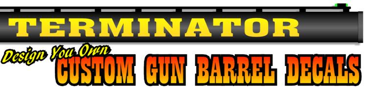 Gun Decals Shotgun Barrel Sticker Shooting Ammo Decal - Custom gun barrel stickersgun decals shotgun barrel sticker shooting ammo decal